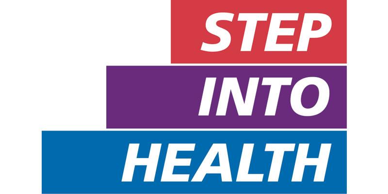 Step into health logo