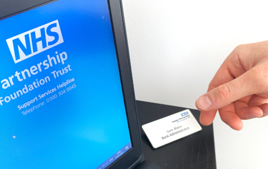 ID Card with Computer