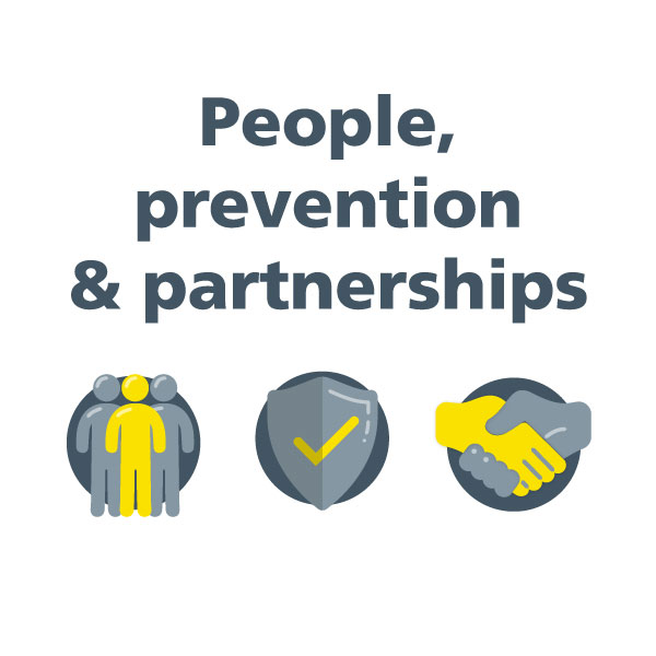 People, prevention, partnerships